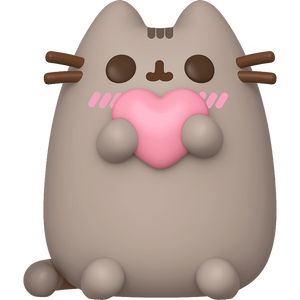 Pusheen with Heart: Funko POP! x Pusheen the Cat Vinyl Figure [#026 / 44529]