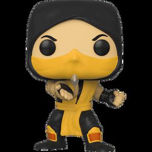 Scorpion: Funko POP! Games x Mortal Kombat Vinyl Figure [#537 / 45110]