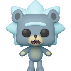 Teddy Rick: Funko POP! Animation x Rick & Morty Vinyl Figure [#662 / 44250]