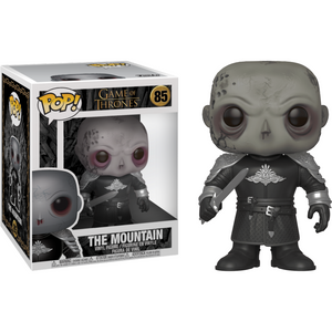 "The Mountain [Unmasked]: ~6"" Funko Deluxe POP! x Game of Thrones Vinyl Figure [#088 / 45337]"
