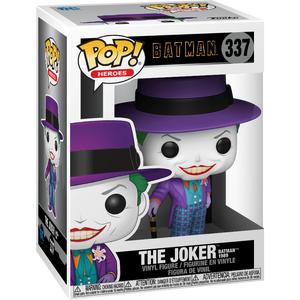 The Joker [Batman 1989]: Funko POP! Heroes x Batman 1989 Vinyl Figure [#337 / 47709]