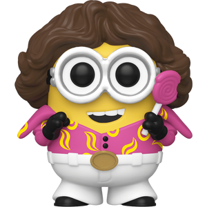 70's Bob: Funko POP! Movies x Minions: The Rise of Gru Vinyl Figure [#901 / 47801]