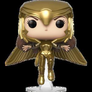 Wonder Woman Golden Armor Flying: Funko POP! Heroes Vinyl Figure [#227 / 46660]