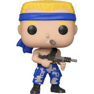 Bill Rizer: Funko POP! Games x Contra Figure [#310 / 46997]