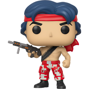 Lance Bean: Funko POP! Games x Contra Figure [#310 / 46998]