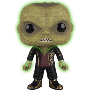 Killer Croc [Glow-in-Dark] (B&N Exclusive): Funko POP! Heroes x Suicide Squad Vinyl Figure [#102 / 11157]
