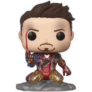 Iron Man [I am Iron Man] (PX Glow-in-Dark Exclusive): Funko POP! Marvel x Avengers - Endgame Vinyl Figure [47096]