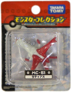 Latias: Takara Tomy Pokemon  Monster Collection Mini Figure (#MC-051 / 68084)