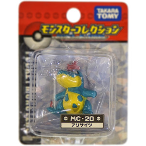 Croconaw: Takara Tomy Pokemon  Monster Collection Mini Figure (#MC-020 / 52539)