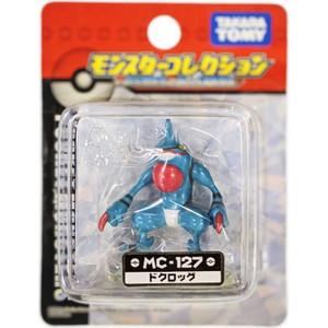 Toxicroak: Takara Tomy Pokemon Monster Collection Mini Figure (#MC-127 / 31923)