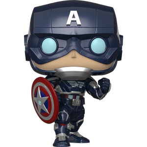 Captain America: Funko POP! Games x Marvel's Avengers - Gamerverse Vinyl Figure [#627 / 47757]