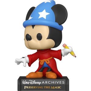 Sorcerer Mickey: Funko POP! x Disney Archives Vinyl Figure [#799 / 49891]