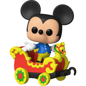 Mickey Mouse on the Casey Jr. Circus Train Attraction: Funko POP! Trains x Disneyland Resort 65th Anniversary Vinyl Figure [#003 / 50948]
