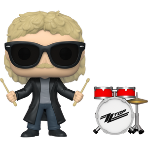 Frank Beard: Funko POP! Rocks x ZZ Top Vinyl Figure [#166 / 41185]