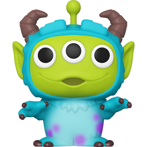 Sulley: Funko POP! Disney Pixar Alien Remix Vinyl Figure [#759 / 48362]