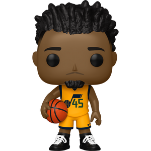 Donovan Mitchell [Jazz]: Funko POP! Basketball x NBA Vinyl Figure [#086 / 50819]