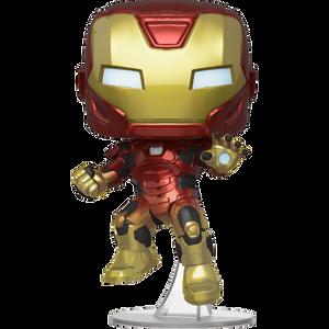 Iron Man (Target Exclusive): Funko POP! Games x Marvel's Avengers - Gamerverse Vinyl Figure [#634 / 47817]