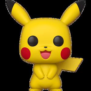 "Pikachu: ~18"" Funko Deluxe POP! Games x Pokémon Vinyl Figure [#053 / 50543]"
