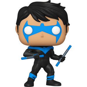 Nightwing (NYCC 2020 Exclusive): Funko POP! Heroes x Batman Vinyl Figure [#364 / 51669]