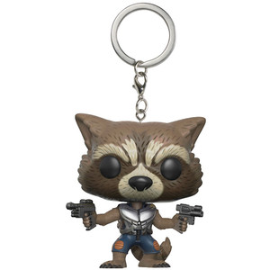 Rocket: Funko Pocket POP! x Guardians of the Galaxy 2 Mini-Figural Keychain