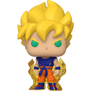 Super Saiyan Goku [First Appearance]: Funko POP! Animation x DragonBall Z Vinyl Figure [#860 / 48600]