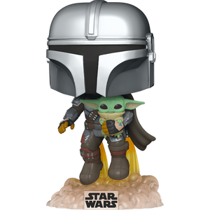 The Mandalorian with the Child: Funko POP! x Star Wars - The Mandalorian Vinyl Figure [#402 / 50959]