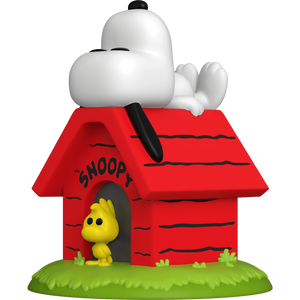 Snoopy & Woodstock with Doghouse: Funko POP! x Peanuts Vinyl Figure [#856 / 50817]
