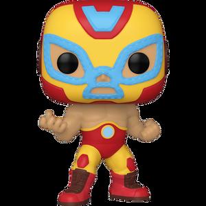 El Héroe Invicto (Iron Man): Funko POP! x Marvel Universe Vinyl Figure [#709 / 53871]