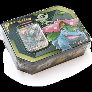 Celebi & Venusaur:  Pokemon GX Tag Team Trading Card Tin Box  [80529]