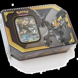 Pikachu & Zekrom:  Pokemon GX Tag Team Trading Card Tin Box  [80529]