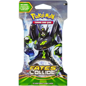 XY Fates Collide (Zygarde-EX Cover Art): Pokemon Trading Card Game Booster Pack (80114 / D)