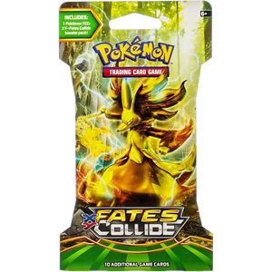 XY Fates Collide (Delphox BREAK Cover Art): Pokemon Trading Card Game Booster Pack (80114 / A)