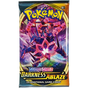 Sword & Shield Darkness Ablaze (Eternatus VMAX Cover Art): Pokemon Trading Card Game Booster Pack (80712 / C)