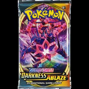 Sword & Shield Darkness Ablaze (Eternatus VMAX Cover Art): Pokemon Trading Card Game Booster Pack (80712 / C)