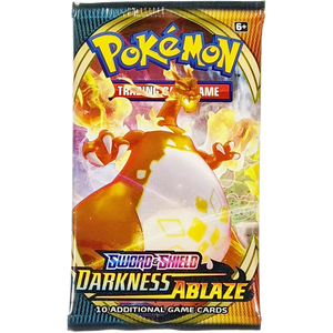 Sword & Shield Darkness Ablaze (Charizard VMAX Cover Art): Pokemon Trading Card Game Booster Pack (80712 / B)