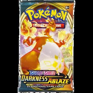 Sword & Shield Darkness Ablaze (Charizard VMAX Cover Art): Pokemon Trading Card Game Booster Pack (80712 / B)