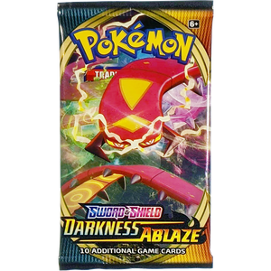 Sword & Shield Darkness Ablaze (Centiskorch VMAX Cover Art): Pokemon Trading Card Game Booster Pack (80712 / A)