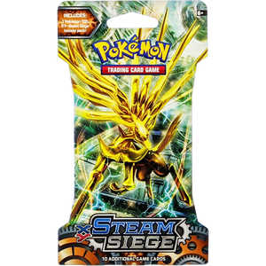 XY Steam Siege (Xerneas BREAK Cover Art): Pokemon Trading Card Game Booster Pack (80134 / C)