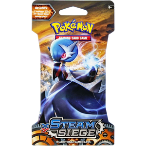 XY Steam Siege (Mega Gardevoir-EX Cover Art): Pokemon Trading Card Game Booster Pack (80134 / A)