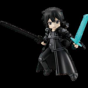 "Kirito: ~3.1"" MegaHouse  Sword Art Online Desktop Army Mini Figure Vol.13 (82703-01)"