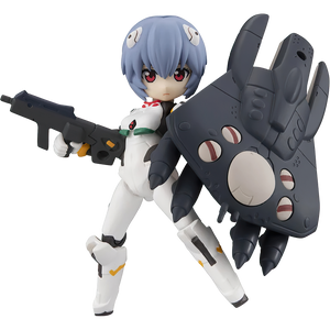"Rei Ayanami: ~3.1"" MegaHouse  Evangelion - 3.0+1.0 Thrice Upon a Time Desktop Army Mini Figure Vol.25 (82979-01)"