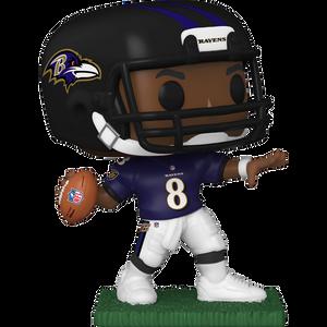 Lamar Jackson [Ravens]: Funko POP! Football x NFL Vinyl Figure [#146 / 50976]
