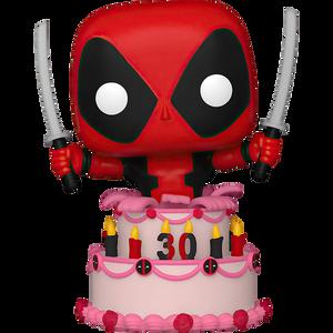 Deadpool in Cake: Funko POP! Marvel x Deadpool Vinyl Figure [#776 / 54654]