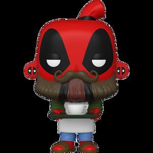 Barista Deadpool: Funko POP! Marvel x Deadpool Vinyl Figure [#775 / 54653]