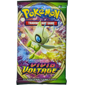 Sword & Shield Vivid Voltage (Celebi Cover Art): Pokemon Trading Card Game Booster Pack (80749 / A)