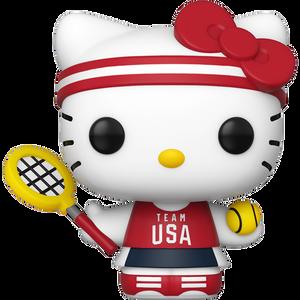 Hello Kitty [Tennis]: Funko POP! Hello Kitty x Team USA Vinyl Figure [#037 / 49297]
