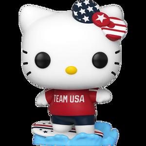 Hello Kitty [Surfing]: Funko POP! Hello Kitty x Team USA Vinyl Figure [#035 / 48693]