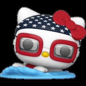 Hello Kitty [Swimming]: Funko POP! Hello Kitty x Team USA Vinyl Figure [#034 / 48692]