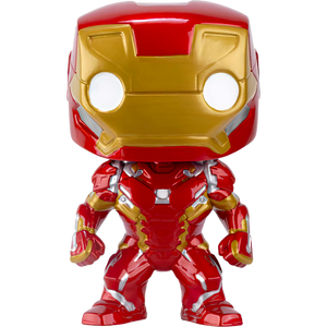 Iron Man: Funko POP! Marvel x Captain America - Civil War Vinyl Figure [#126 / 07224]