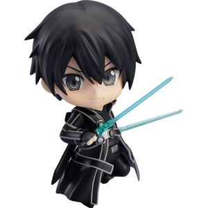 "Kirito: ~3.9"" Sword Art Online x Good Smile Company Nendoroid Mini Action Figure"
